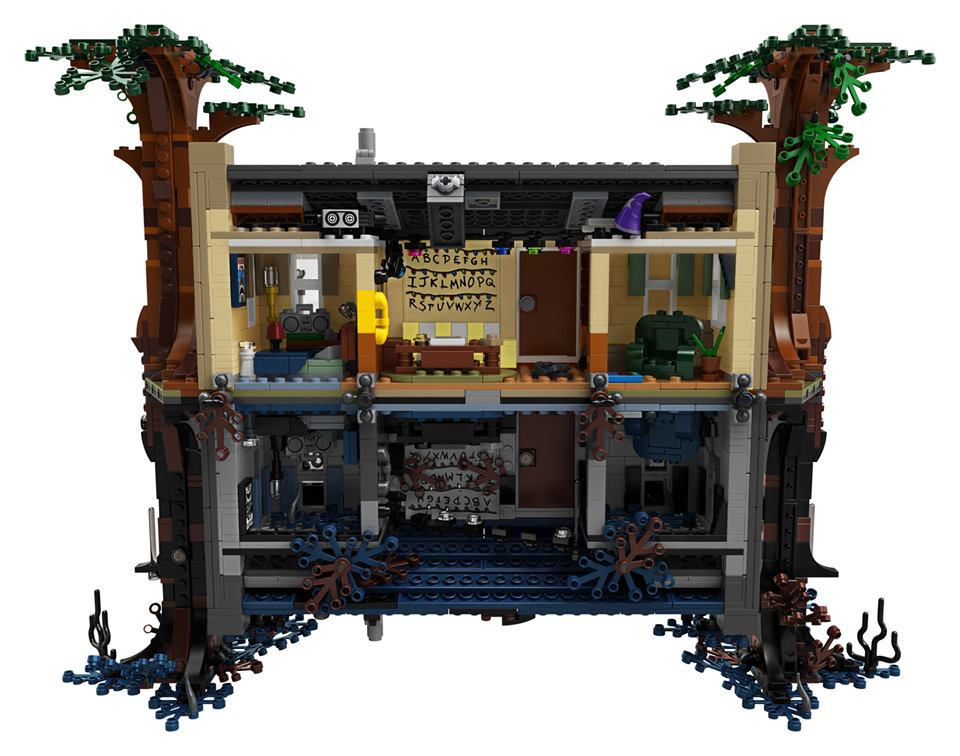 LEGO Stranger Things sottosopra set (5)