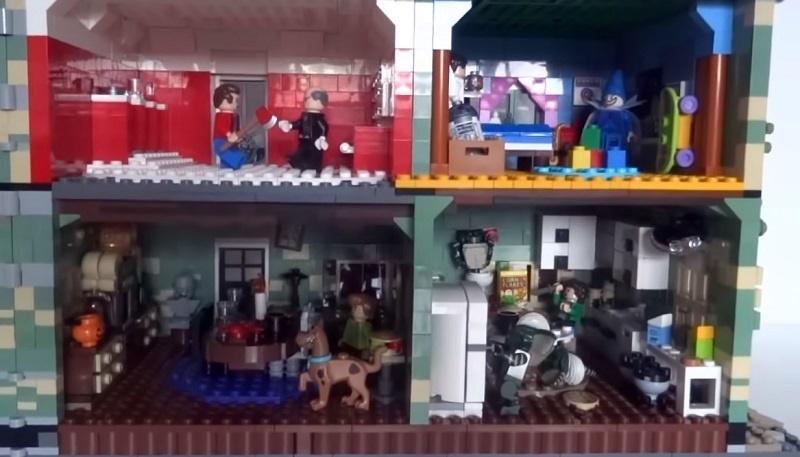LEGO casa stregata