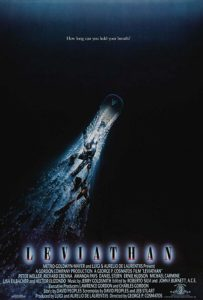 Leviathan (1989) film poster