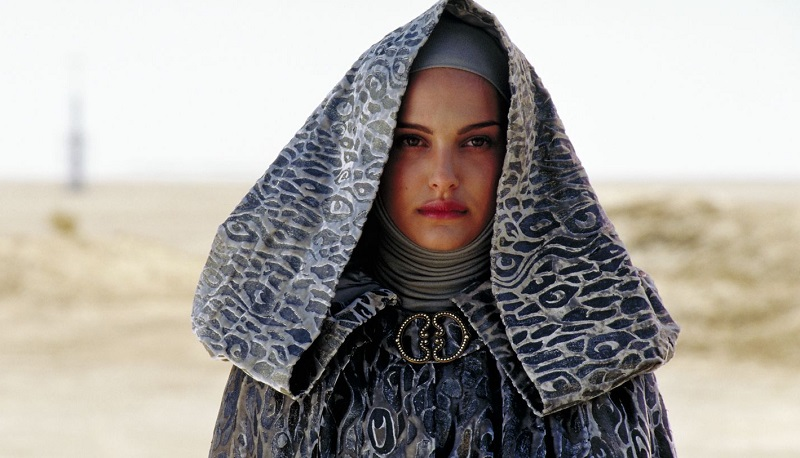 Natalie Portman in Star Wars Episodio II