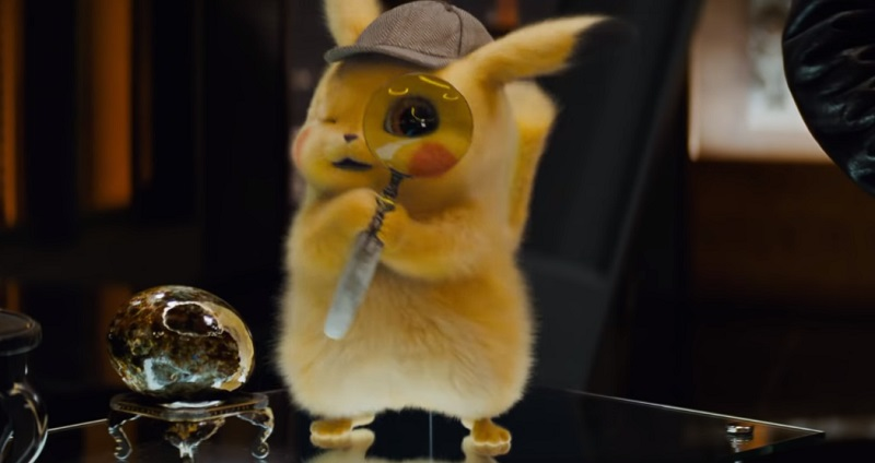 POKÉMON Detective Pikachu film 2019