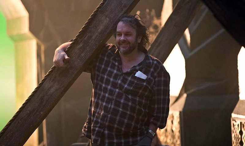 Peter Jackson set Lo Hobbit
