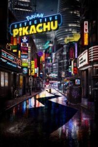 Pokémon - Detective Pikachu film poster