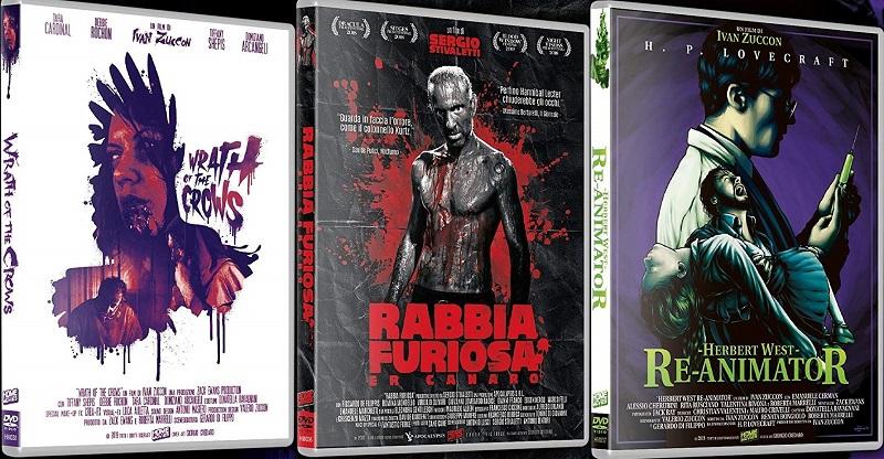 Rabbia Furiosa - Wrath of the crows - Herbert West Re-Animator dvd