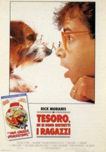 Tesoro, mi si sono ristretti i ragazzi (1989) poster