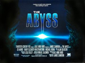 The Abyss (1989) film poster
