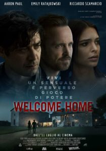 WELCOME HOME film Poster Ratajkowski Scamarcio