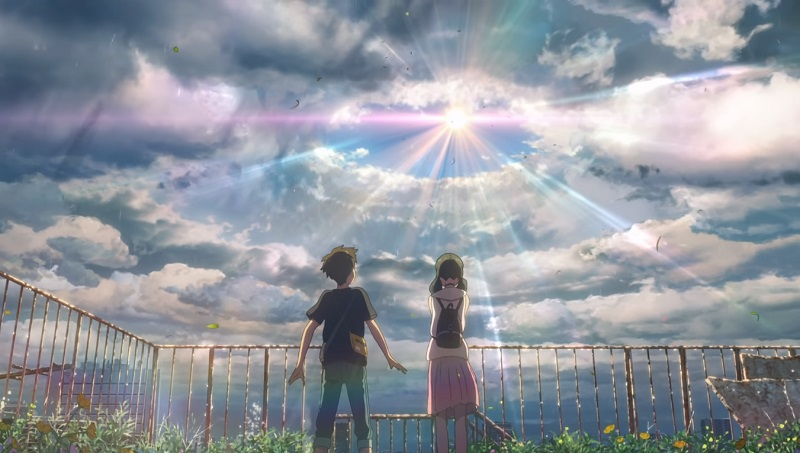 Weathering With You film Makoto Shinkai