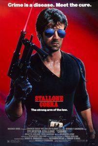cobra film stallone 1986 poster