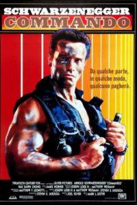 commando film poster 1985