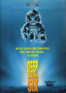 creatura degli abissi film poster 1989