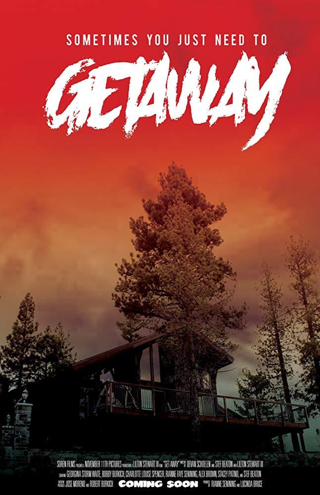 getaway film poster