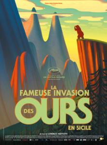 la famosa invasione degli orsi in sicilia film mattotti poster