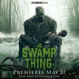 swamp thing serie poster