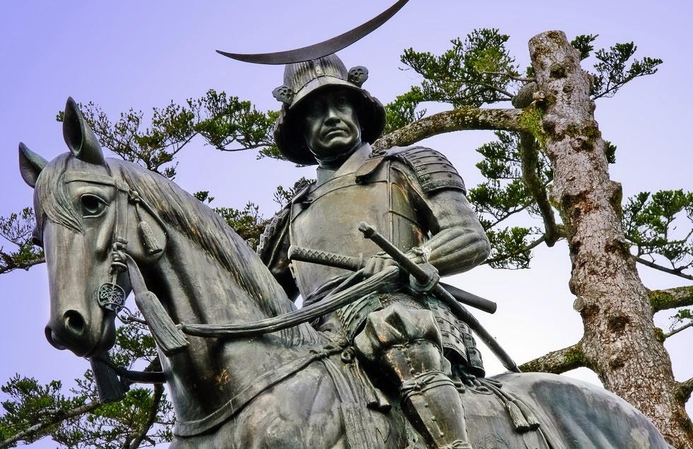 Date Masamune statua