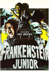 Frankenstein Junior 1974 film poster