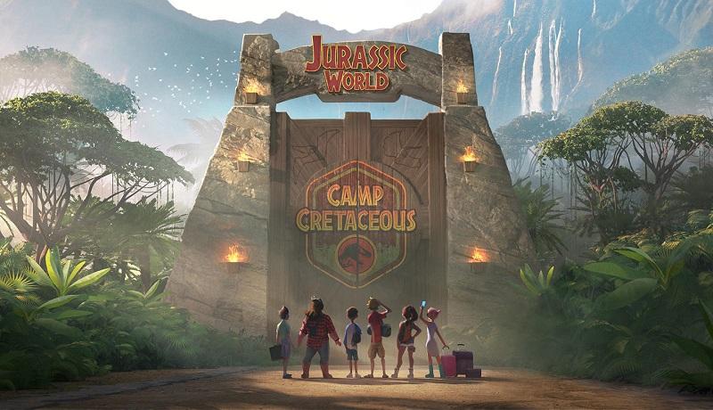 Jurassic World Camp Cretaceous serie netflix