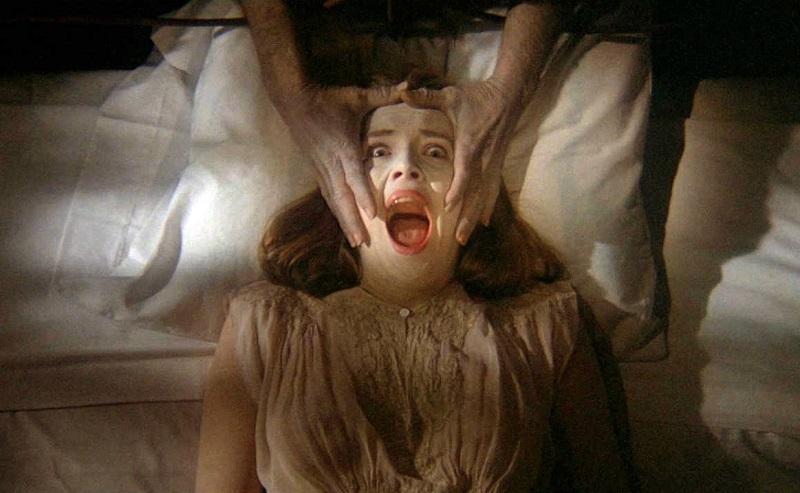 Sharon Stone in Benedizione Mortale 1981 film