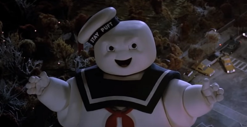 The Stay Puft Marshmallow Man ghostbusters 1984