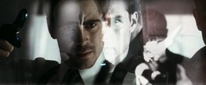 Tom Cruise e Colin Farrell in Minority Report (2002)