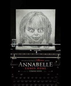 annabelle 3 film poster