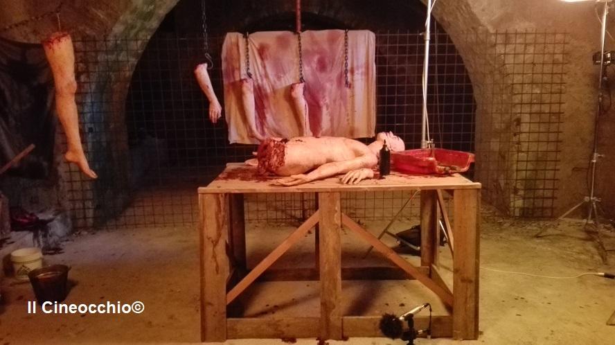 curse of the blind dead raffaele picchio set visit