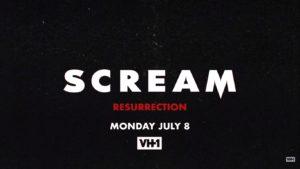 scream resurrection serie 3