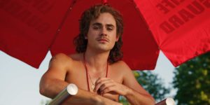 Dacre Montgomery in Stranger Things 3