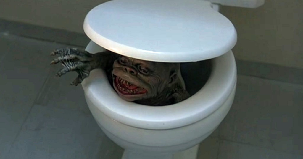 Ghoulies (1984) film water