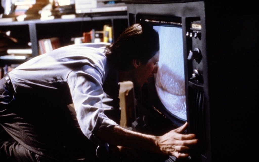 James Woods in Videodrome (1983) film