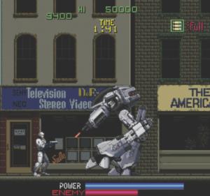 Robocop videogioco arcade 1988
