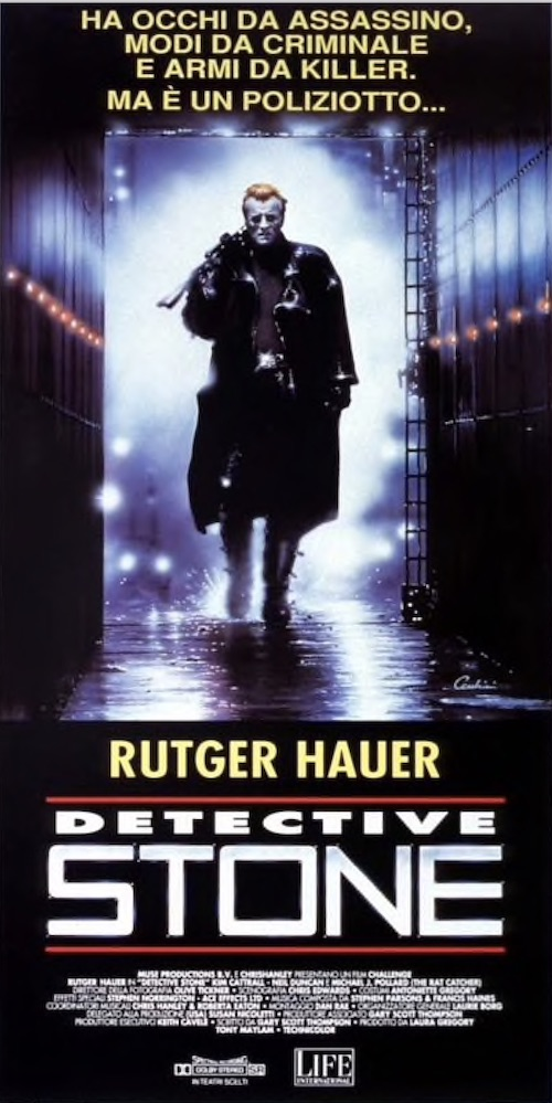 Rutger Hauer - Detective Stone - poster