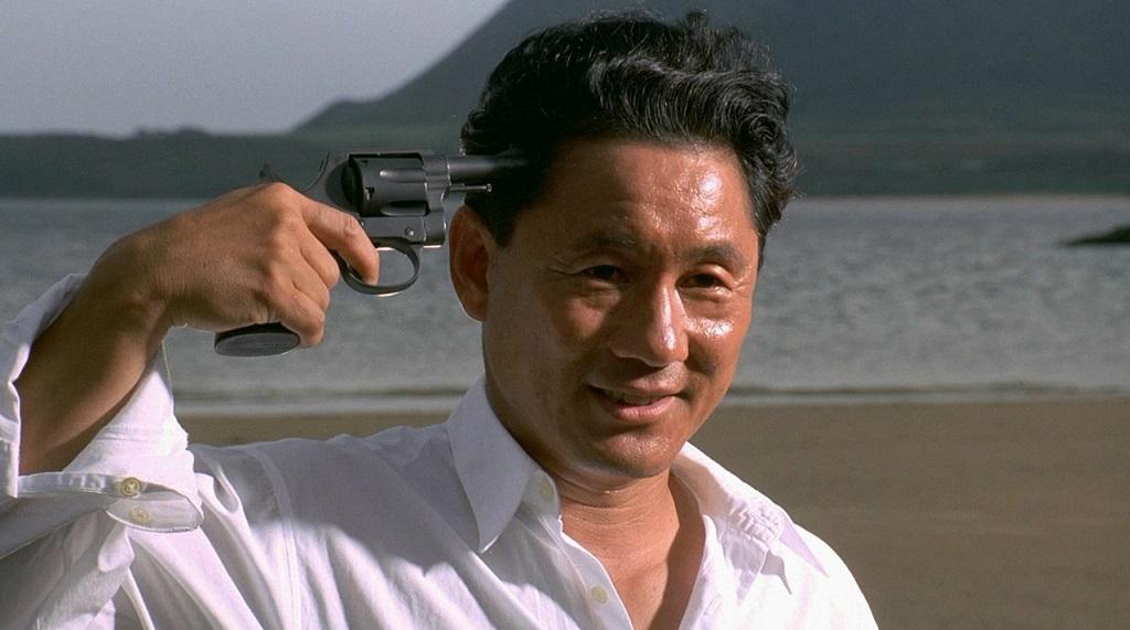 Takeshi Kitano in Sonatine (1993)