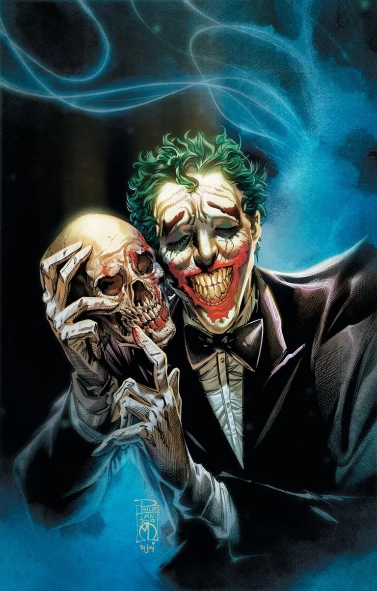 The Joker Year of the Villain 2019 cover