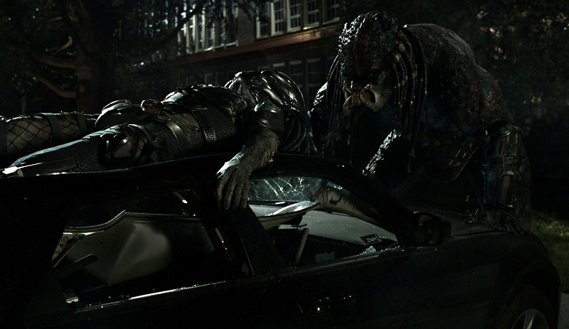 The Predator (2018) film shane black