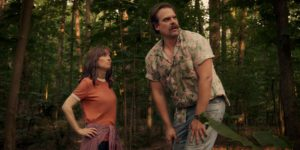 Winona Ryder e David Harbour in Stranger Things 3