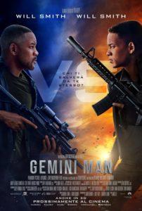 gemini man film poster will smith 2019