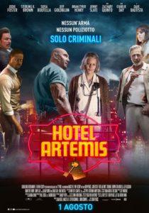 hotel artemis film poster