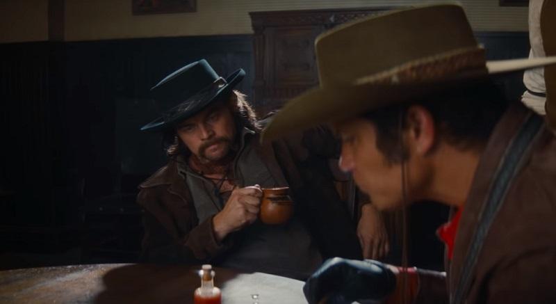 leonardo dicaprio c'era una volta a hollywood rick dalton western