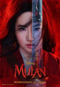 mulan film disney poster 2020