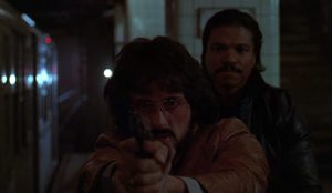 I falchi della notte (1981) Sylvester Stallone e Billy Dee Williams