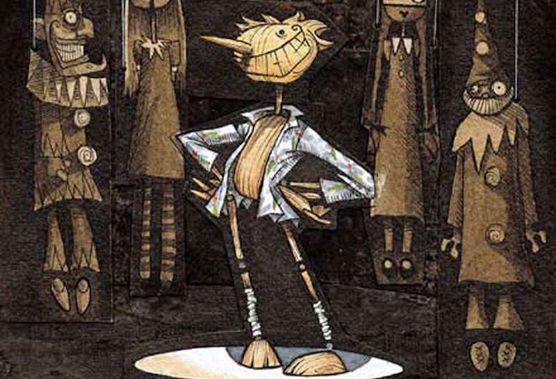 Pinocchio Gris Grimly
