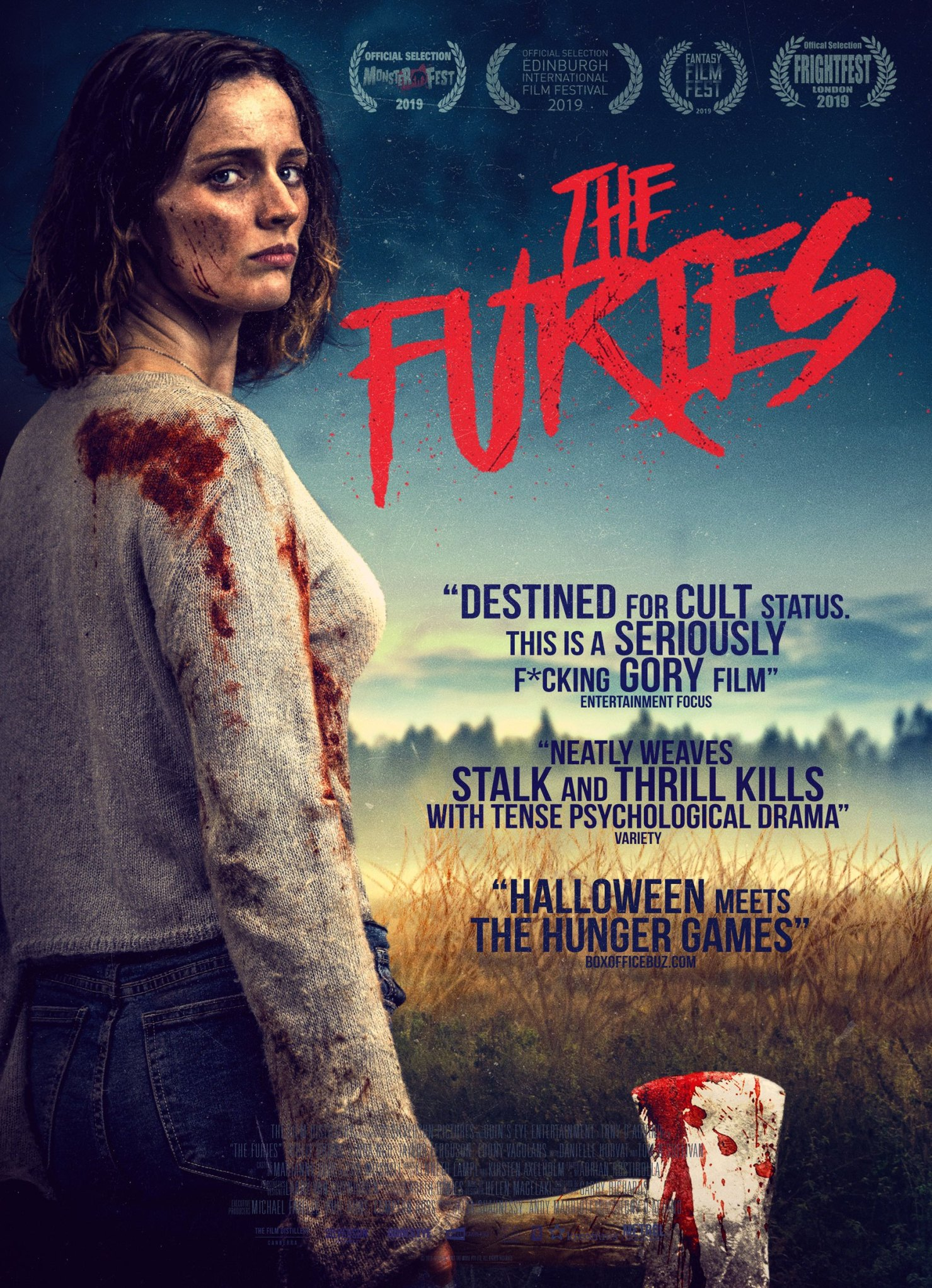 THE FURIES film 2019 poster