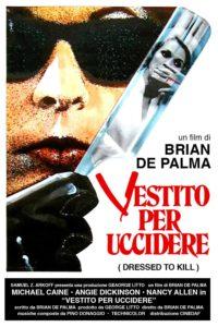 Vestito per Uccidere de plama 1980 poster