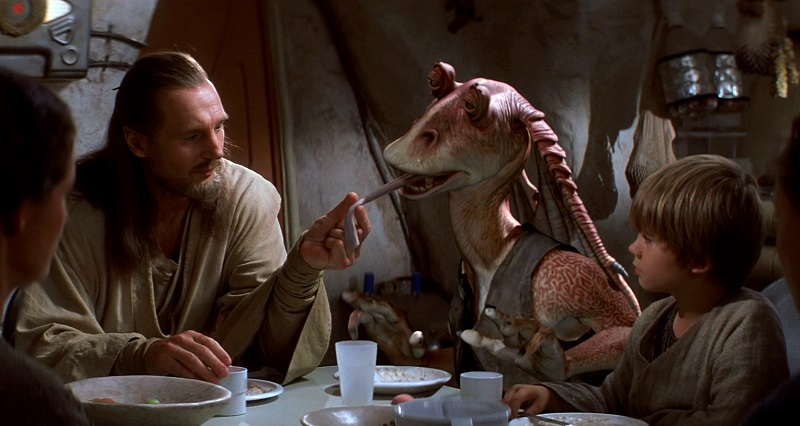 jar jar binks episodio I star wars