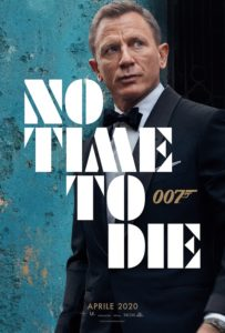 no time to die poster film