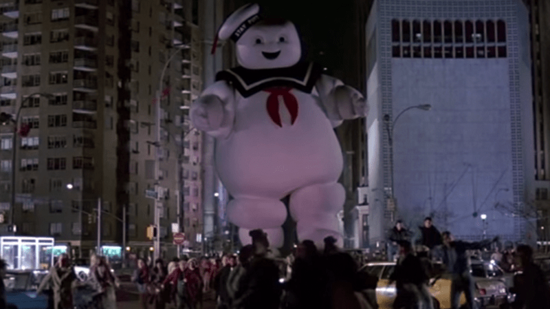 stay puft man ghostbusters