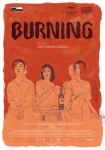 BURNING - L'AMORE BRUCIA film poster