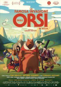 La famosa invasione degli orsi in Sicilia mattotti film 2019 poster
