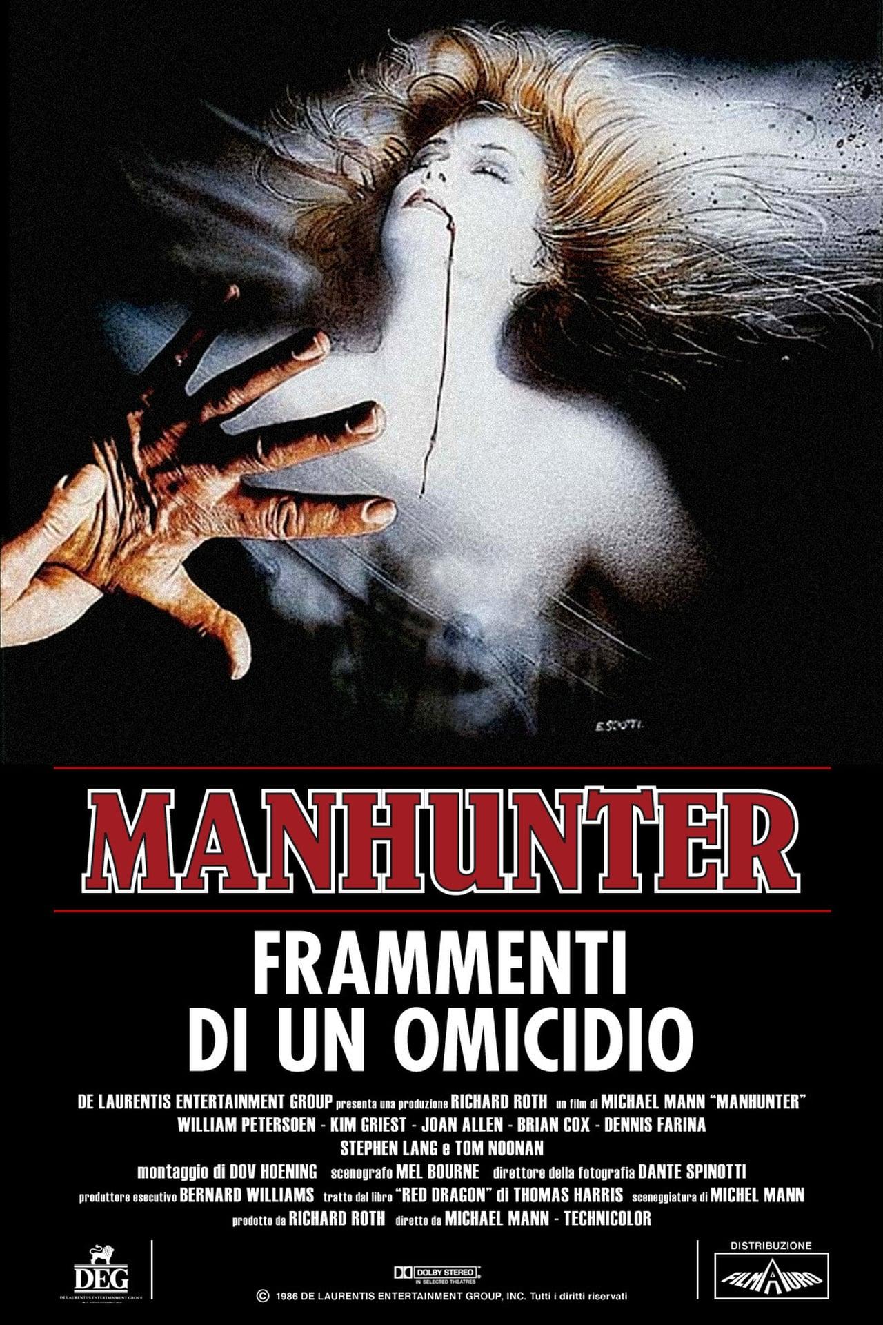 Recensione story | Manhunter - Frammenti di un omicidio di Michael Mann |  Il Cineocchio